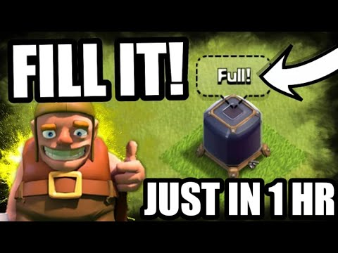 DARK ELIXIR STORAGE FULL JUST IN 1 HOUR HOW? CHECKOUT! CLASH OF CLANS•Future T18