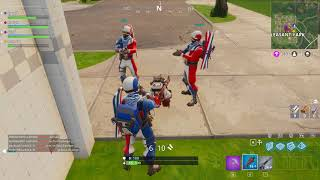 Fortnite FR vs CAN divertente applauso NUOVO WINTER OLYMPICS SKINS