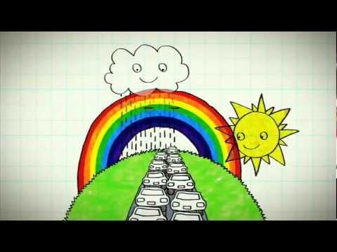 Hoe ontstaat een regenboog?