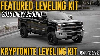 Featured Leveling Kit: Stage 1 Kryptonite Leveling Kit 2015 Chevy Silverado 2500HD