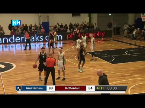 Livestream Apollo Amsterdam - Rotterdam Basketbal