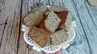 Хлеб из ЧЕЧЕВИЦЫ, БЕЗ МУКИ, ДРОЖЖЕЙ и ГЛЮТЕНА
