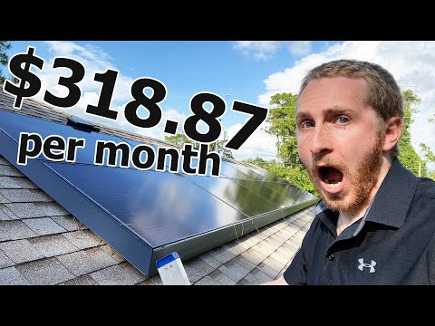 The TRUTH about my $10 Electric Bill with Tesla Solar