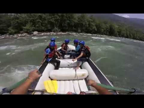 Rafting at Kullu Manali...$$