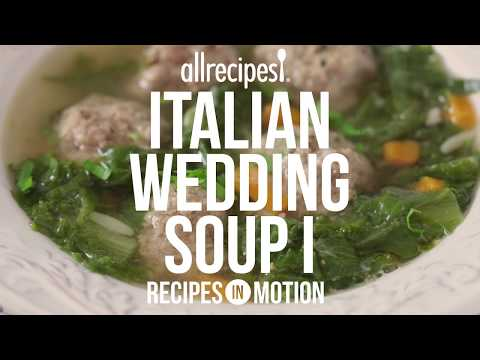 How to Make Italian Wedding Soup | Soup Recipes | Allrecipes.com