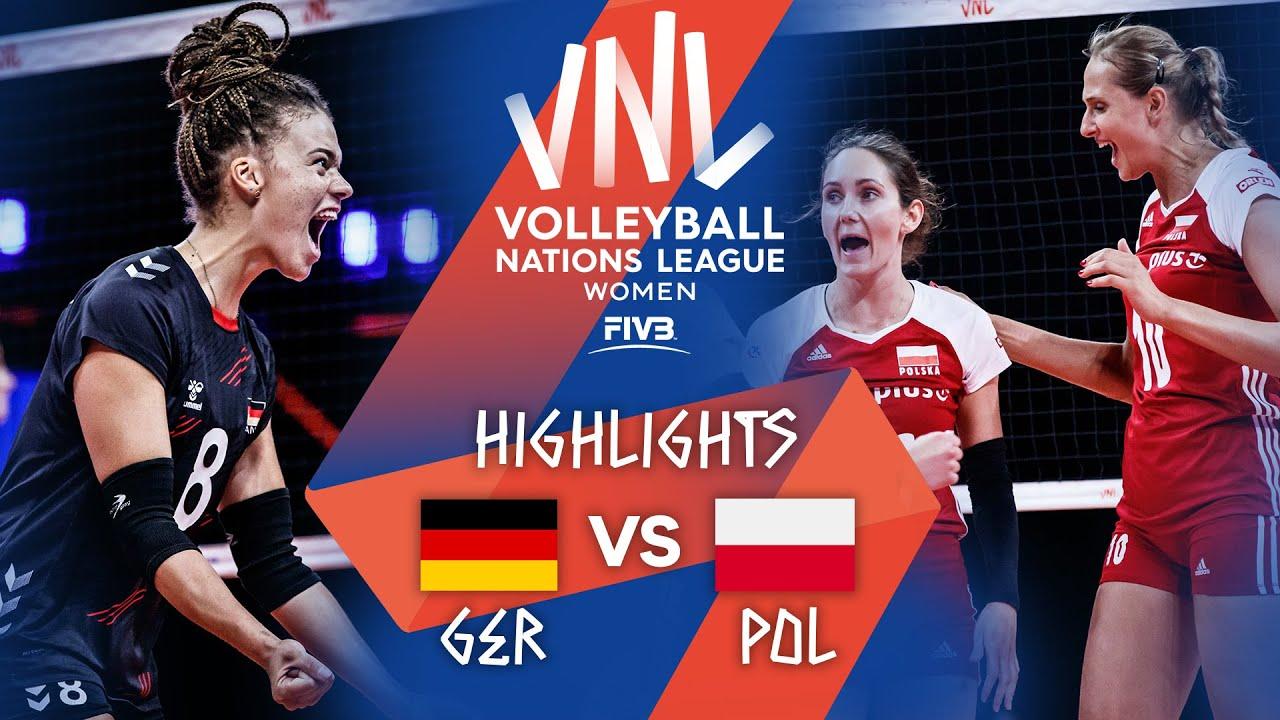 Download GER vs. POL - Highlights Week 4   Women's VNL 2021