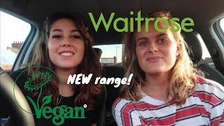 Trying the new VEGAN range from Waitrose