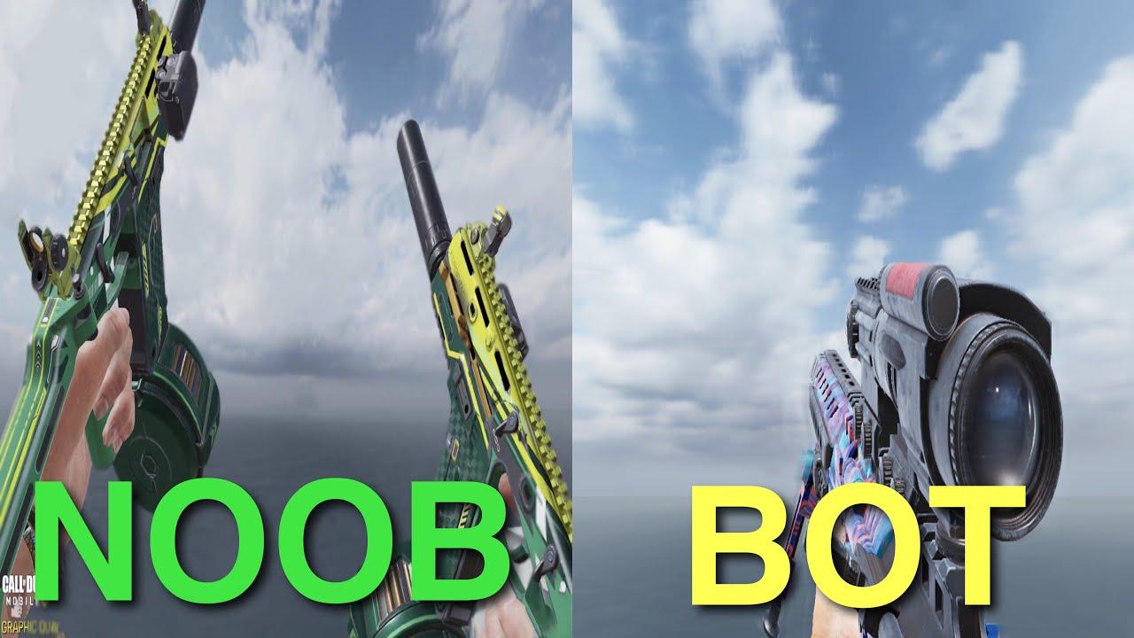 CODM Guns that takes NO SKILL to use
