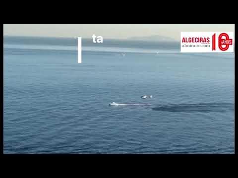 Persecución a una embarcación en El Faro