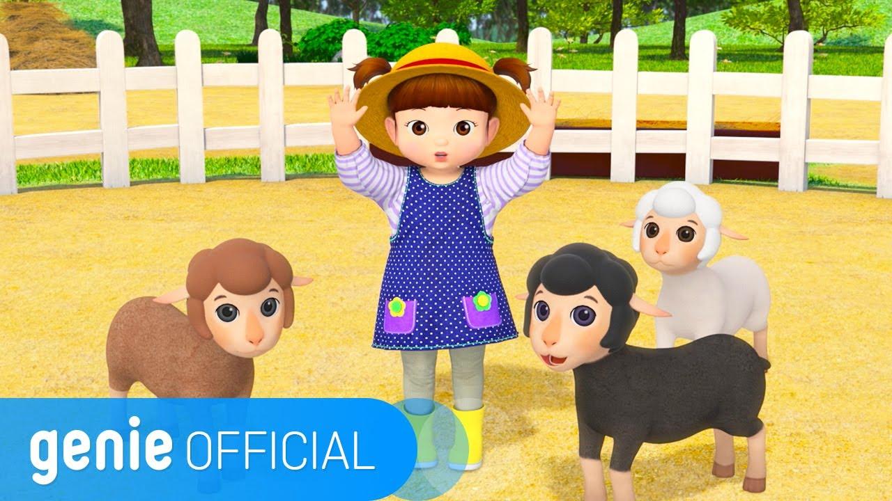 콩순이 Kongsuni - 매에 매에 까만양 Baa Baa Black Sheep (ENG Ver.) Official M/V