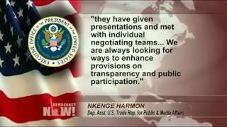 TPPは貿易協定の衣を着た企業による世界支配の道具 Breaking '08 Pledge...