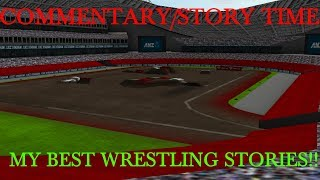 Rigs Of Rods Monster Jam Monster Truck Commentary/Story Time-BEST PRO WRESTLING STORIES!!