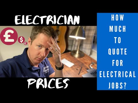 How To Price Jobs And Quote As An Electrician Or Other Tradesman