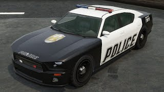 GTA 5 How To Get Police Cars (buffalo, police bike, unmarked cruiser, etc)