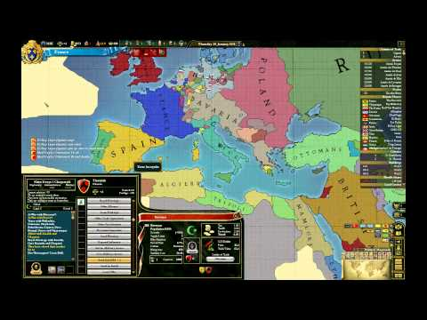 Let's Play Europa Universalis III Divine Wind France Episode IV: Ceasefire (4)