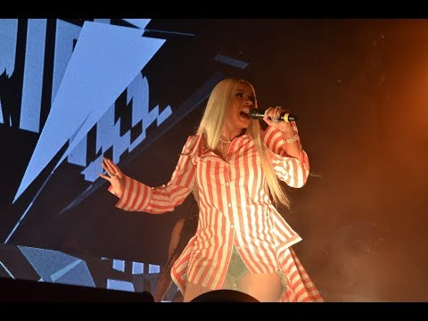 Cardi B tells UMass Amherst students to stay in school during free concert at The Mullins Center