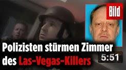 Neue Bilder veröffentlicht: So stürmten Polizisten das Zimmer des Las-Vegas-Killers
