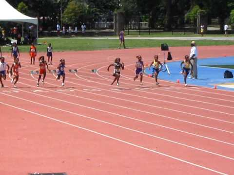 7 year old Kayla Clifton 100m Primary 14  07