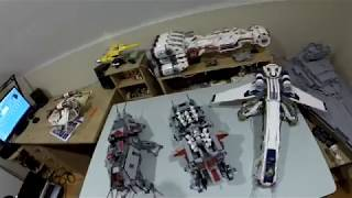 LEGO 10195 / LEPIN 05053 REPUBLIC DROPSHIP WITH AT-OT TIME LAPSE