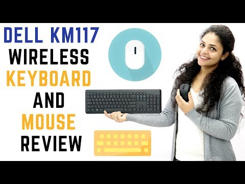 Dell KM117 Wireless Keyboard & Mouse Review | Dell Wireless Keyboard And Mouse Unboxing 🖱️