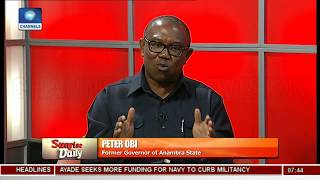 Peter Obi Laments Nigeria's High Debt Profile - Peter Obi Pt 2 | Sunrise Daily |