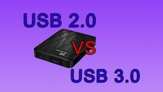 USB 3 0 vs USB 2 0 Speed Test
