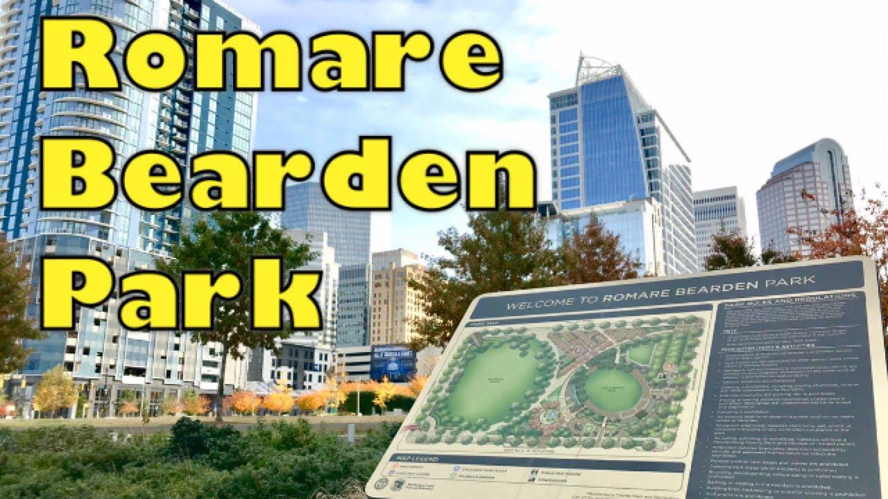 Romare Bearden Park Uptown Charlotte Nc Youtube