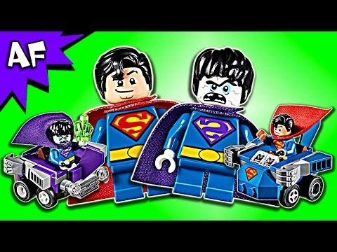 Lego DC Mighty Micros SUPERMAN vs. BIZARRO 76068 Speed Build