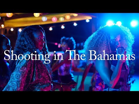 Shooting an ad campaign in The Bahamas | BTS + Travel