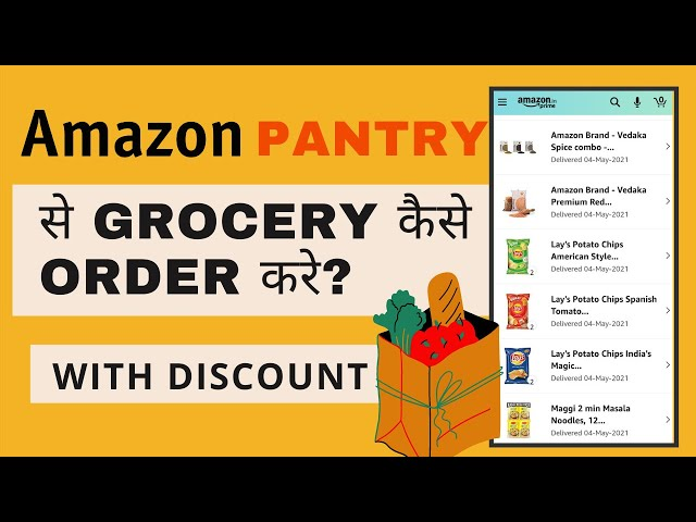 How To Order Groceries From Amazon Pantry? Amazon Pantry All Grocery Product Available To Purchase