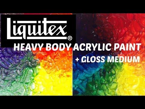 LIQUITEX DEMO Heavy Body + Gloss Medium
