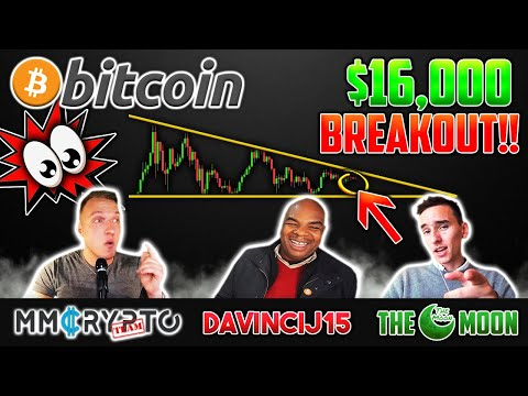 BITCOIN BREAKOUT To  $16'000 If THIS Happens!! Davinci & The Moon Show EXACT Price Targets!!!