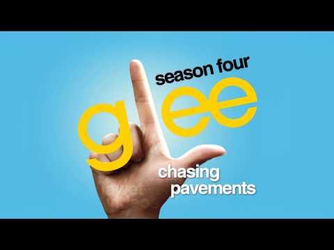 Chasing Pavements - Glee [HD FULL STUDIO]