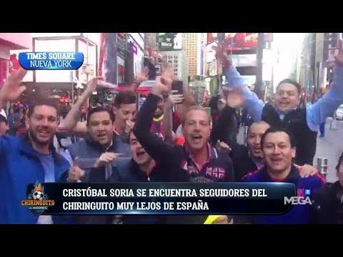 LOCURA en Nueva York con Cristóbal Soria y SEGUIDORES de 'El Chiringuito'