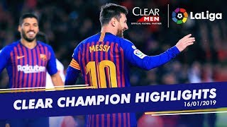 Messi reaches 400, Iñaki goes solo and Raul's hits a hat-trick - LaLiga
