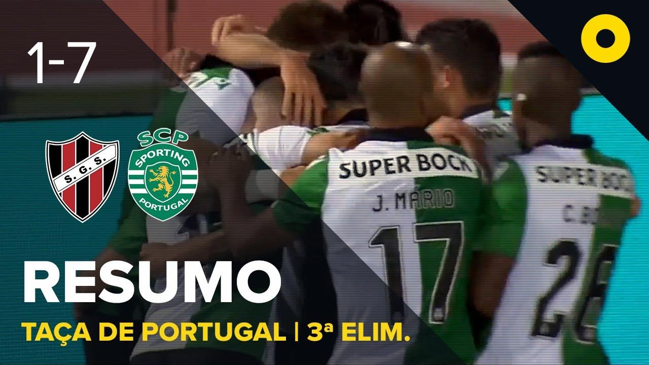 Sacavenense 1-7 Sporting - Resumo | SPORT TV