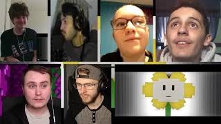 """I Am Flowey""   Undertale Minecraft Music Video (Song by TryHardNinja) [REACTION MASH-UP]#176"