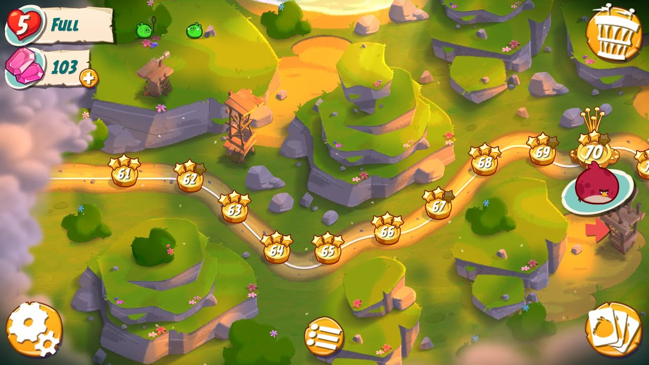 Angry Birds 2 Walkthrough (Levels 61-65) Episode 11 - YouTube
