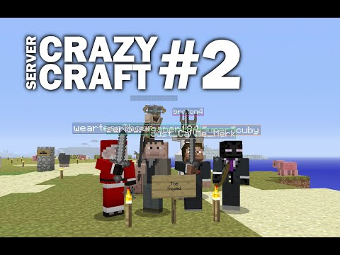 Minecraft PS4 - FLAT LANDS AND FORTRESS #2 - CRAZY CRAFT - LET'S PLAY ( PS3 / XBOX )