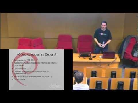 Conferencia Debian (Asociación Linux Entre Comillas 14/11/2012)