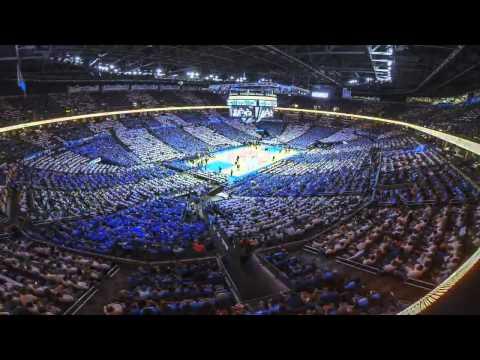Time Lapse: Thunder vs. Grizzlies Game 2 | April 21, 2014