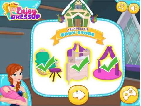 Annas Newborn House Makeover - Baby Games for Kids