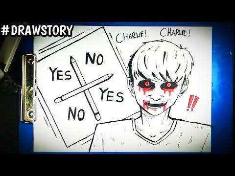 Misteri Dibalik Permainan CHARLIE CHARLIE    DRAWSTORY