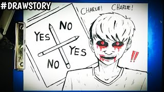 Misteri Dibalik Permainan CHARLIE CHARLIE || DRAWSTORY