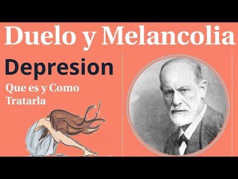 Freud, Duelo y Melancolia, Que es Y como Se Trata la Depresion