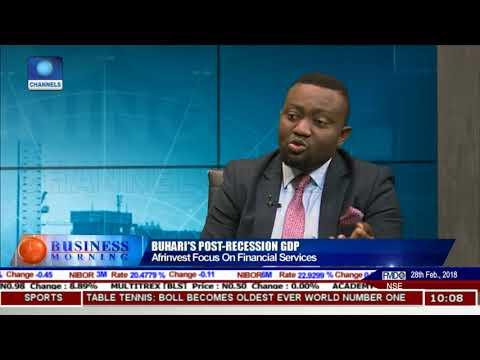 Examining Nigeria's Post Recession GDP Pt 1 | Business Morning |
