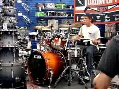 guitar center drum off in lubbock tx youtube. Black Bedroom Furniture Sets. Home Design Ideas
