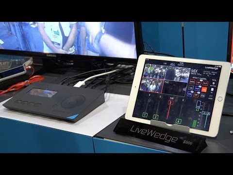 CES 2015 First Look - Cerevo LiveWedge Video Switcher - $999 Four Camera Device For YouTube, Twitch