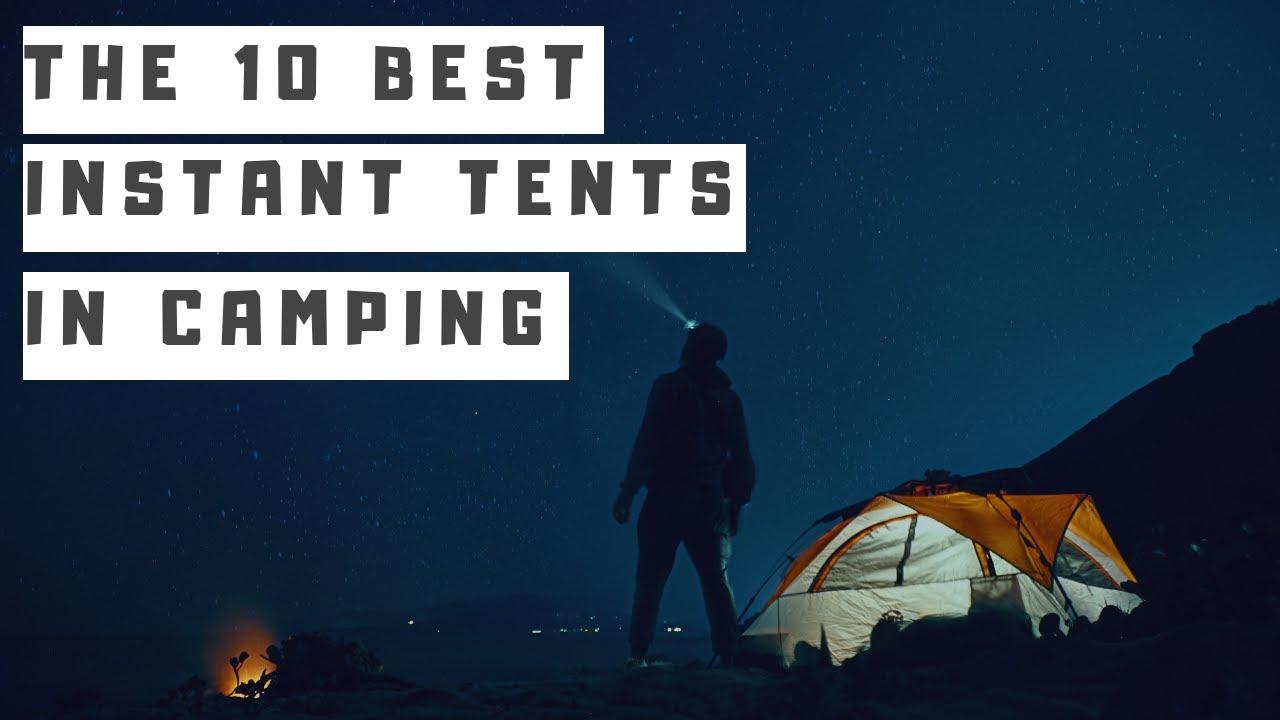 12 Best Instant Tents Reviewed 2019 - Coleman vs CORE vs