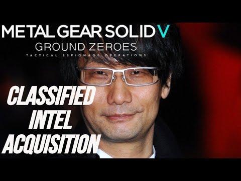Metal Gear Solid 5 Ground Zeroes - Classified Intel Acquisition ESPAÑOL |